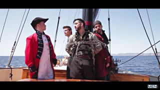 Pirates with johnny rapid and jimmy duranco