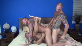 Muscle Daddy Fuck Frenzy with Vic Rocco and Jon Galt