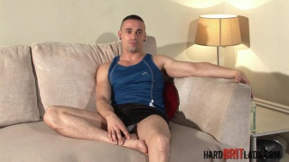 good-looking guy Chase Reynolds has a beautiful cock