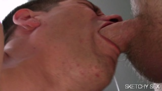 bottom beep throating a bunch of dicks
