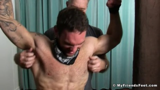 tickling two men Chase lachance and Sean Holmes