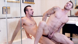 Boyfriend's Cumming Home with Alex Mecum & Alexander Volkov