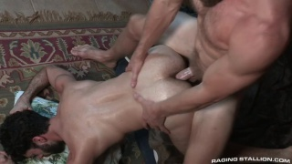 Trapped with Colby Keller and Teagan zayne