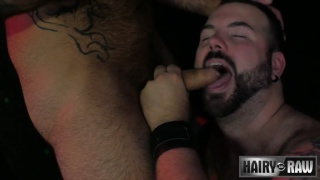 big bearded Atlas Grant and hung fucker Aiden Storm