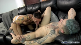 Inked Buddies Mickey Taylor & Leo-Rex Bunny Meet Up For Fun