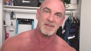 hairy muscle Daddy Trace O'Malley