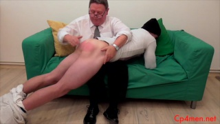 Larry McCormick The Burglar gets spanked