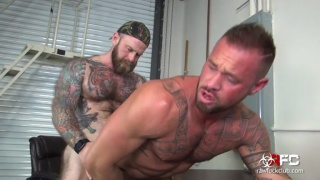Taking Jack Dixon's Fat Daddy Dick with michael roman