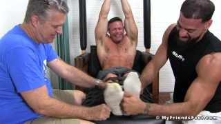 Joey Tightly Bound, Toe-Tied & Tickled