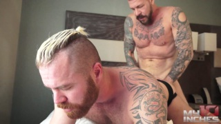 zack acland takes all of rocco steele's 10 inches