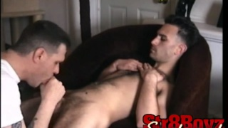 First Man Blowjob
