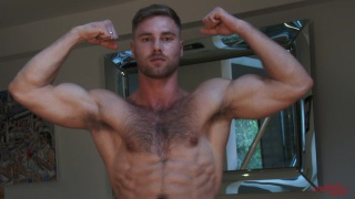 rugby hunk om Lawson in first JO video