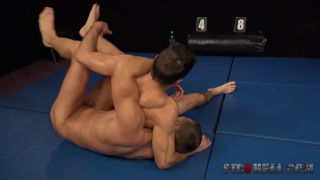 Wrestling with Tomas Salek and Martin Hovor