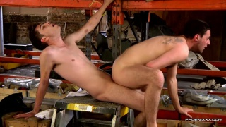 fucking out loads at work with Riley Tess & Jonny Parker