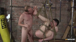Aaron Aurora gets his hole dominated by Sean Taylor
