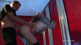 Bound Spanked and Barebacked at Victor Cody XXX