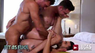 fit as fuck with AADEN STARK, MANUEL SKYE AND DAMON HEART