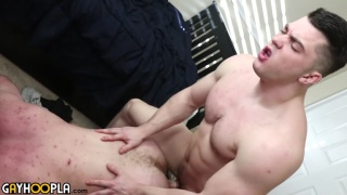Ryan Judd gets ass fucked by Collin Simpson