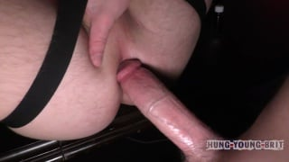 21-year-old gets tag team fucked by two big dicks