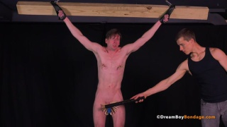 master lent his slave boy to this dungeon for further training