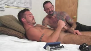 JACK TAYLOR gets tied to the bed and tickled