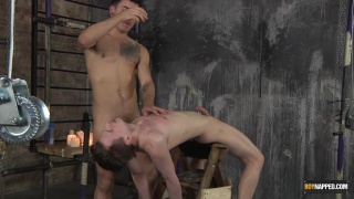 bound Kamyk Walker gets sucked by Jack Taylor