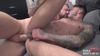 FUCKING CRIS KNIGHT with rocco steele