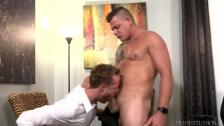 My Boss Has a Huge Cock with Jace Chambers & Jack Gunther