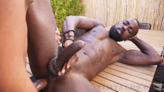 Emanuel Rucci bare fucks Peter Connor's hungry hole