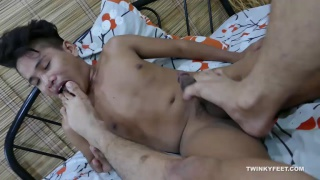 Russel and Andrew Horny For Feet