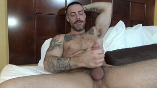 personal trainer Carlos earns extra cash riding cock