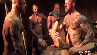 Seth Santoro's Gang Bang - Part 1