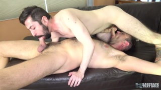 bearded hairy sex pigs Topher Michels and Geoff Gregorio