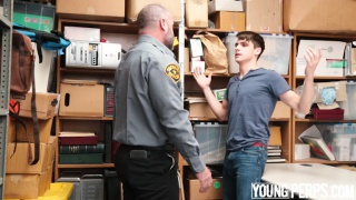 young lad caught stealing by friend's father