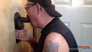 Black Man Gives Me His Cock To Suck