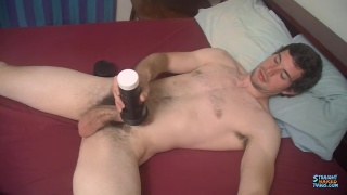 Hunter Emptying His Big Jock Balls