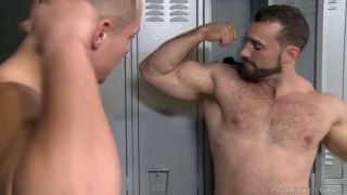 Worship My Big Muscles and Fat Cock with Jaxton Wheeler & Aston Springs