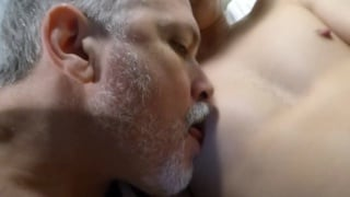 daddy fucks a guy with a very hairy ass