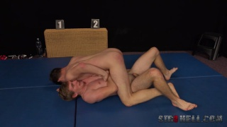 naked wrestling with Franta Tucny and Dan Holan