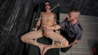 bound Tony Orlando Tickling and Teased to Ecstasy