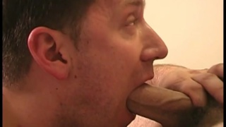 papi on his knees takes dick-sucking instruction