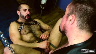 jack Hardy fucks muscle bed Amir Badri