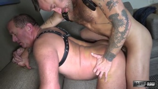 Hoytt Walker and Josh Blaze bareback fucking