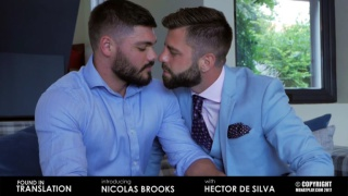 HECTOR DE SILVA bottoms for newcomer NICOLAS BROOKS