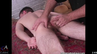 straight guy Shayne gets his ass fingered