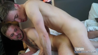 Koby Lewis gets fucked by Kayden Gray