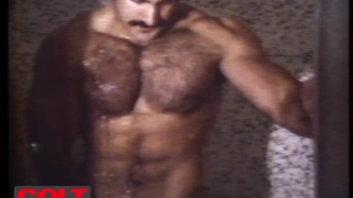 hairy hunk Bruno's Screen test