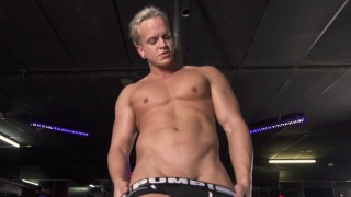 Strip Club Justin gives us a full-frontal show