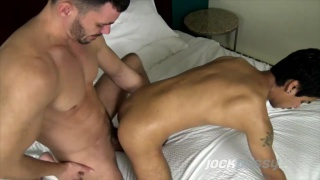 Brogan Reed fucks trans guy Xander James