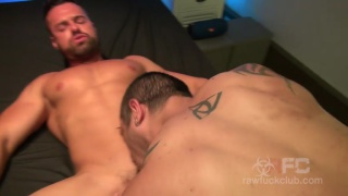 Muscle Pounded with gabriel lunna and julio rey